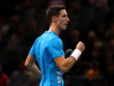 In Andy and Jamie Murray's absence, Britain's new trickshot king Joe Salisbury stands alone at the ATP Finals