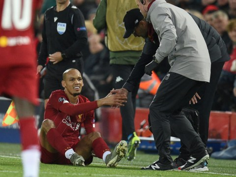 Jurgen Klopp provides Fabinho injury update after Liverpool's draw with Napoli