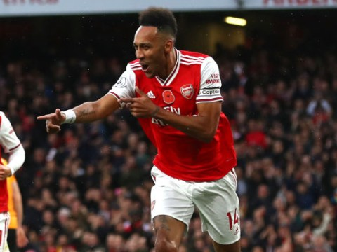 Unai Emery suggests Pierre-Emerick Aubameyang could become new Arsenal captain