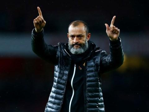 Nuno Espirito Santo breaks silence on Arsenal speculation with Unai Emery facing the sack