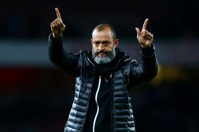 Nuno Espirito Santo emerged as a leading contender to replace Unai Emery as Arsenal manager