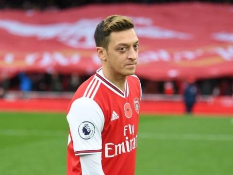 Unai Emery slammed for starting Arsenal outcast Mesut Ozil against Wolves
