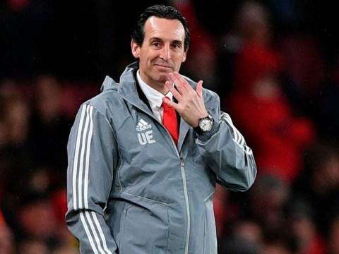 Arsenal stars mocked Unai Emery on plane home after Vitoria draw