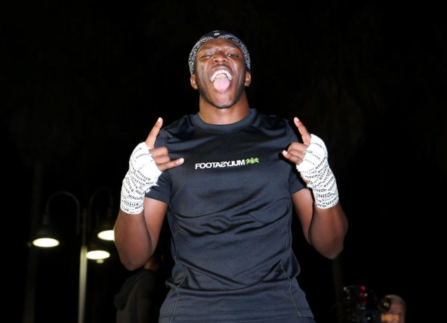 KSI prepares for rematch with Logan Paul