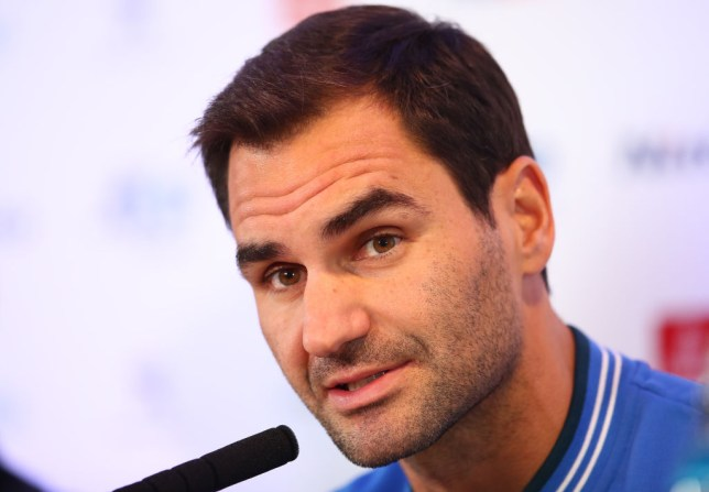 Roger Federer addresses the media and discusses the ATP Cup ahead of the ATP Finals in London