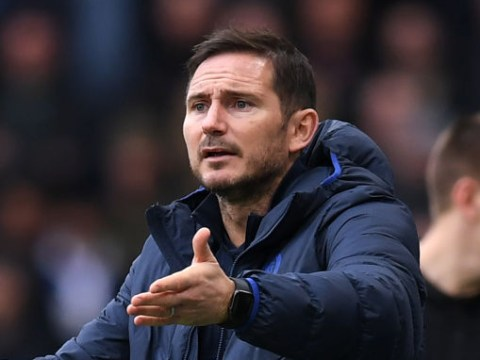 Frank Lampard reveals what he told Chelsea players at half-time during Crystal Palace win