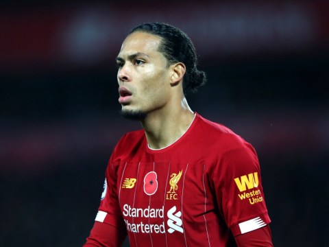 Virgil van Dijk explains why he didn't celebrate Liverpool's first goal vs Manchester City