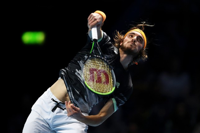 Stefanos Tsitsipas beat Daniil Medvedev for the first time in his career