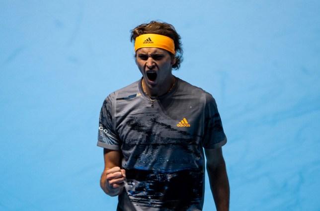 Defending champion Alexander Zverev beat Rafael Nadal at the ATP Finals