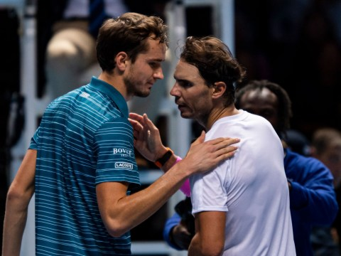 Rafael Nadal leaps to defence of Daniil Medvedev after ATP Finals collapse