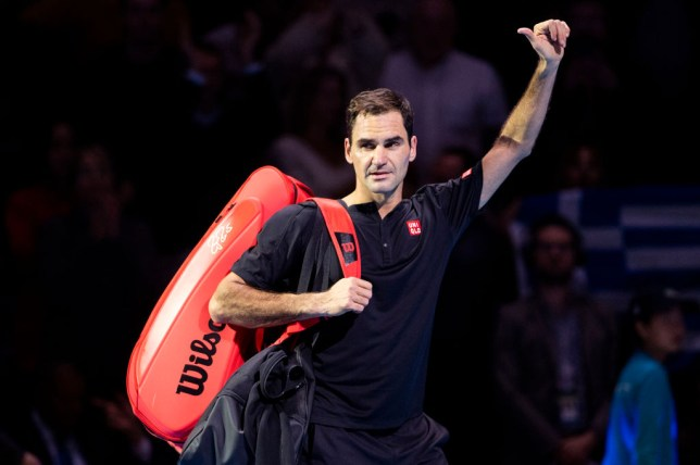 Roger Federer waves goodbye to the ATP Finals after defeat to Stefanos Tsitsipas