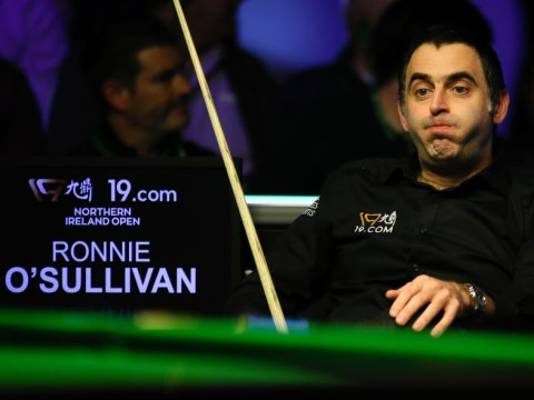 Ronnie O'Sullivan insists he's 'had a good day' despite Northern Ireland Open defeat to Judd Trump
