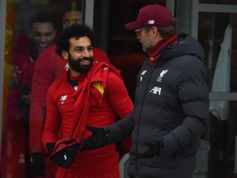 Jurgen Klopp provides update on injured Liverpool stars Mohamed Salah and Andy Robertson