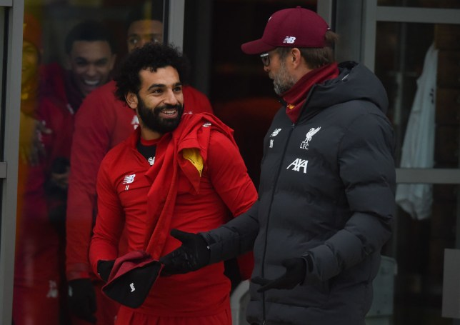Mohamed Salah is nursing an ankle injury and remains a doubt for Liverpool's Premier League match against Crystal Palace, according to Jurgen Klopp
