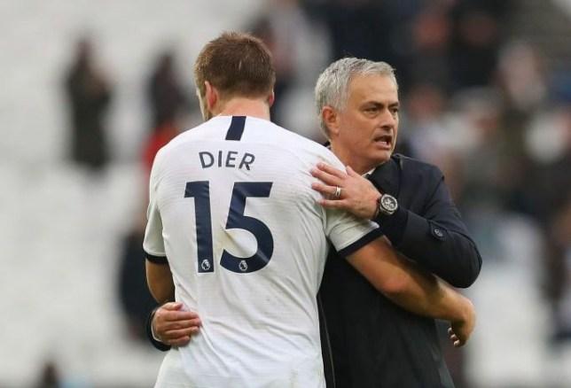 Tottenham star Eric Dier and new manager Jose Mourinho
