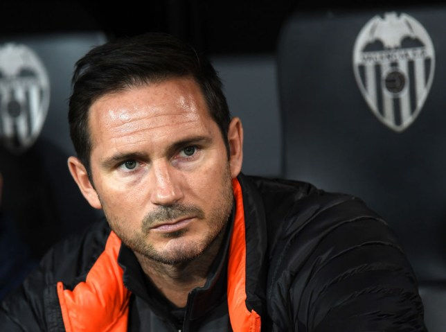Frank Lampard criticised his Chelsea side following their draw at Valencia