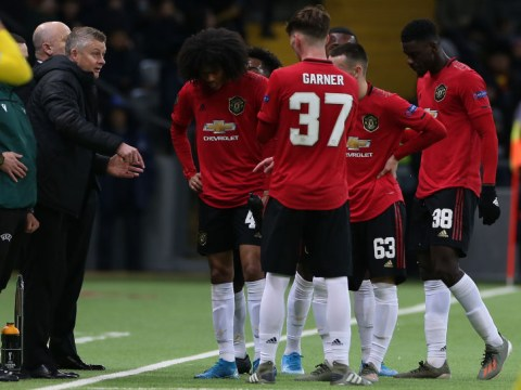 Ole Gunnar Solskjaer defends Tahith Chong after horror miss in Manchester United's defeat at Astana