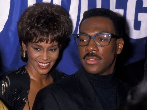 Eddie Murphy 'tried to stop Whitney Houston marrying Bobby Brown' claims her lover in new book