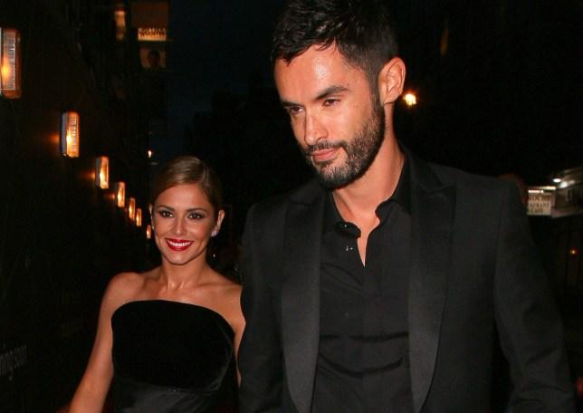 Cheryl and her ex-husband Jean Bernard Fernandez-Versini