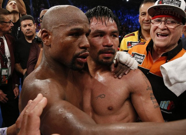 Floyd Mayweather has been tipped to have a rematch against Manny Pacquiao
