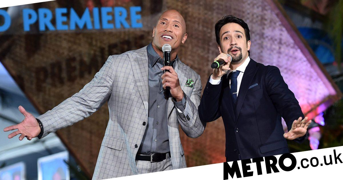 Dwayne The Rock Johnson shrugs off death hoax with Lin Manuel Miranda - Metro.co.uk