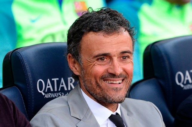 Luis Enrique was identified as a potential replacement for Unai Emery at Arsenal