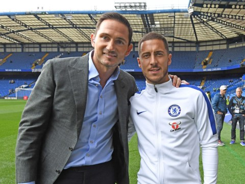 Eden Hazard 'not surprised' by Frank Lampard's success at Chelsea and praises youngsters