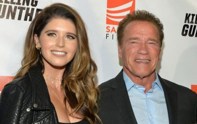 Arnold Schwarzenegger and daughter Katherine