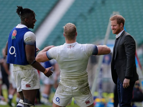 Prince Harry wishes England good luck ahead of flying to Rugby World Cup final