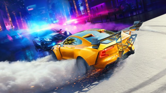 Need For Speed Heat key art