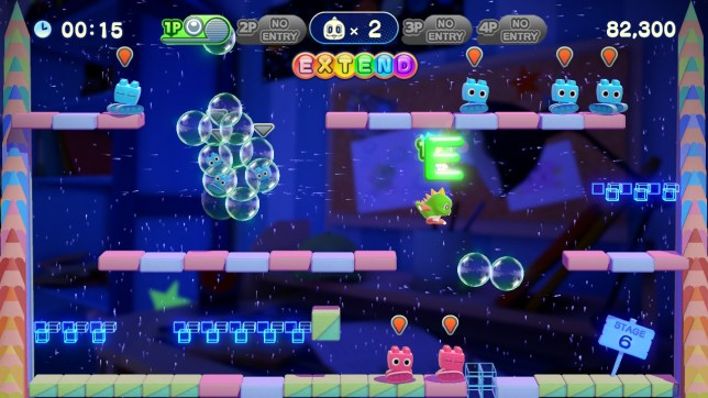 Bubble Bobble 4 Friends screenshot (pic: ININ Games)