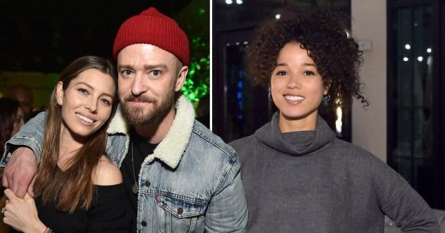 Justin Timberlake, Jessica Biel, Alisha Wainwright