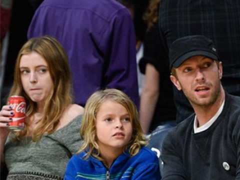 Chris Martin pays his children Apple and Moses to appear on latest Coldplay album