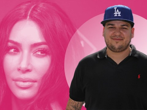 Kim Kardashian gives update on how Rob Kardashian's doing: 'He's been around a lot'