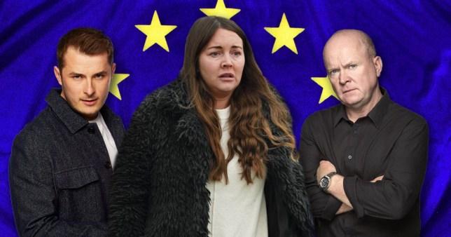 EastEnders Brexit vote