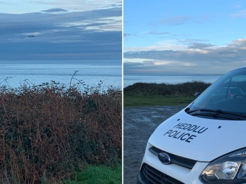 Rescue mission under way after plane crash off coast of Wales
