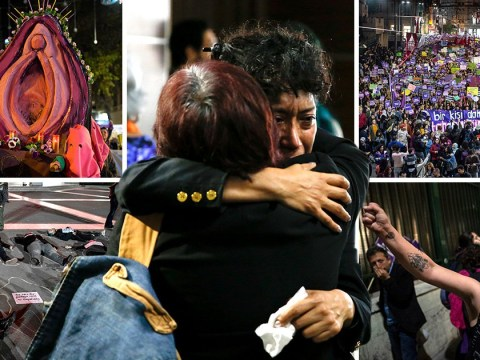 Global protests for International Day For The Elimination Of Violence Against Women