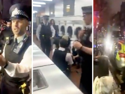 Met Police accused of brutality on dad drying kids' clothes at launderette