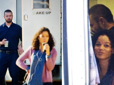 Justin Timberlake pictured with Alisha Wainwright inside same trailer after holding hands on night out