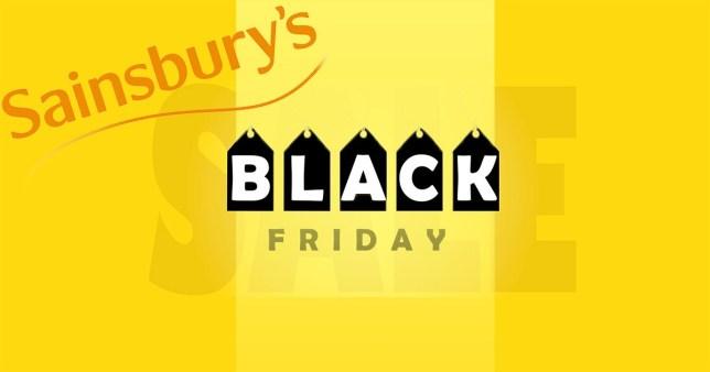 Black Friday deals at Sainsbury's