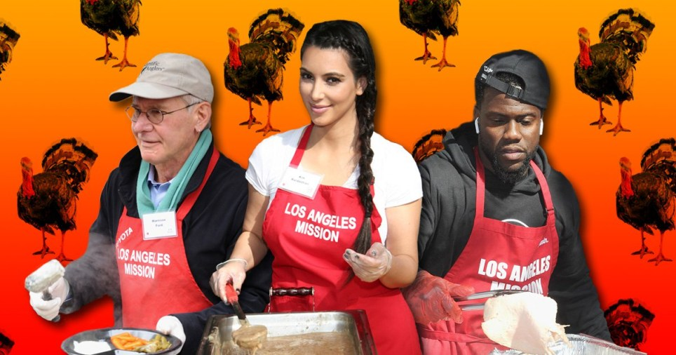 Celebrities Thanksgiving