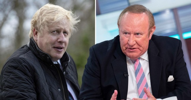 Boris Johnson has not agreed to do an interview with Andrew Neil