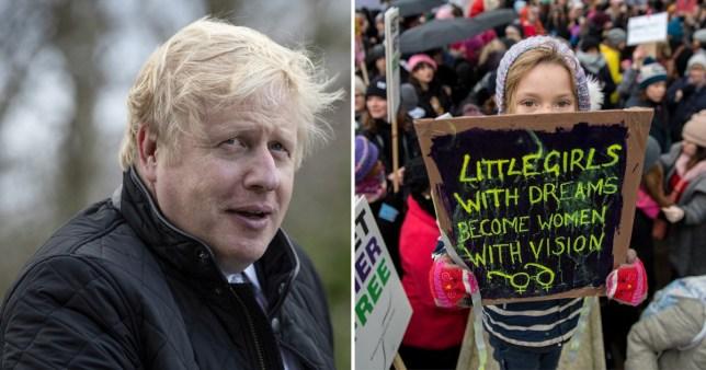Boris Johnson on women
