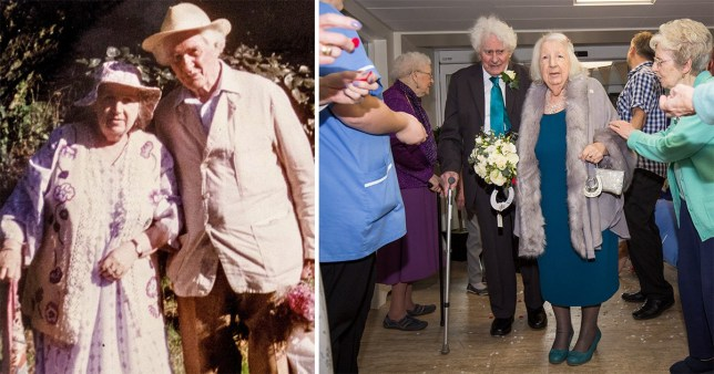 Joan Neininger and Ken Selway married after decades of friendship