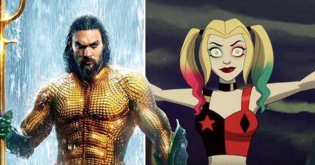 Aquaman and Harley Quinn