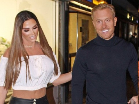 Katie Price and Kris Boyson are all loved-up again as they reunite for dinner date after 24-hour split
