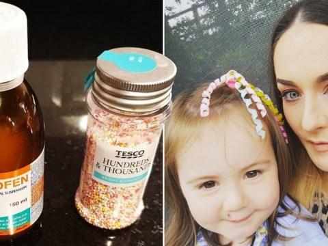 Mum shares brilliant 'unicorn potion' trick to get kids to take their medicine
