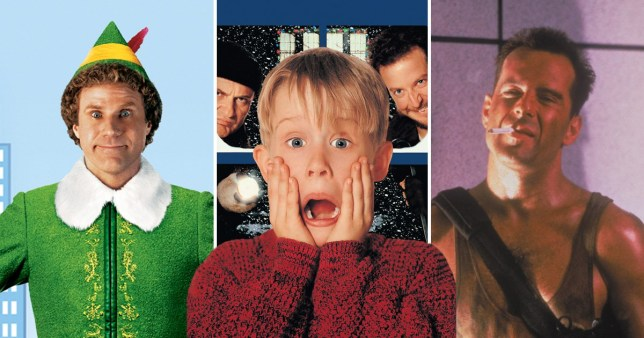 Home Alone, Elf and Die Hard