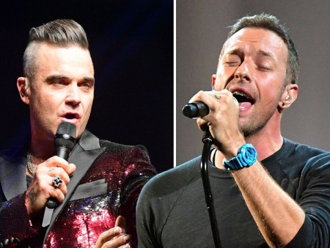 Coldplay beat Robbie Williams to number one with album Everyday Life after chart battle