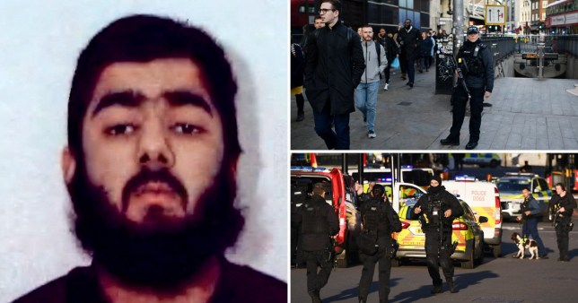 Usman Khan wrote a letter saying he wanted to become a good British citizen (Picture: Getty)